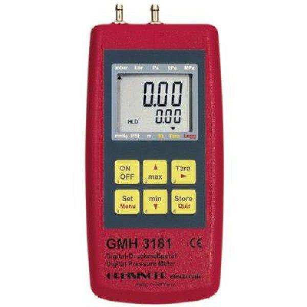 Nyomásmérő Greisinger GMH 3181-01 Légnyomás, Nem agresszív g