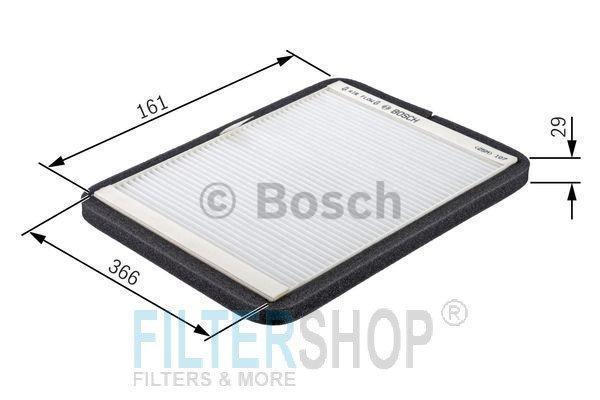 BOSCH 1987432043 Pollenszűrő MERCEDES SPRINTER, VW LT