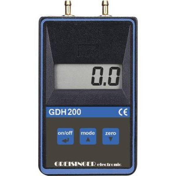Nyomásmérő Greisinger GDH 200-13 Légnyomás 0 - 1.999 bar Kal