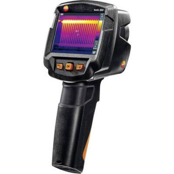 Hőkamera testo 865 -20 - +280 °C 160 x 120 pixel 9 Hz