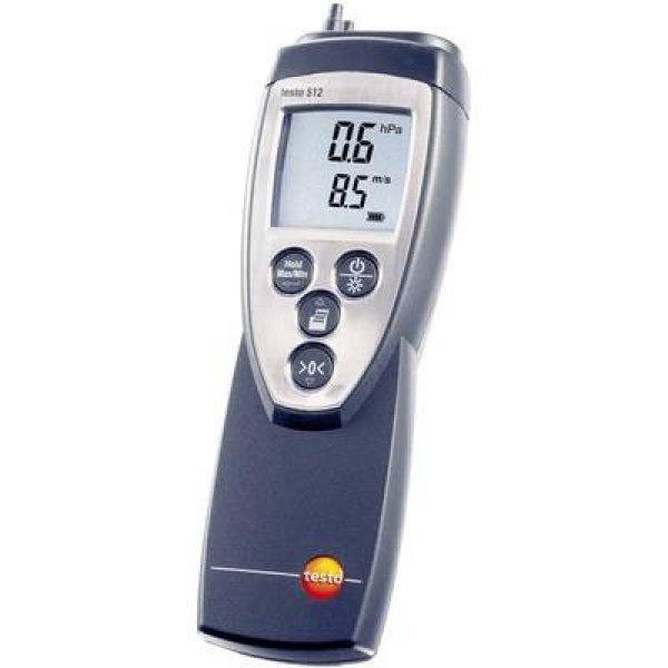 Nyomásmérő testo 512 (0 - 200 hPa) Légnyomás 0 - 200 hPa Kal
