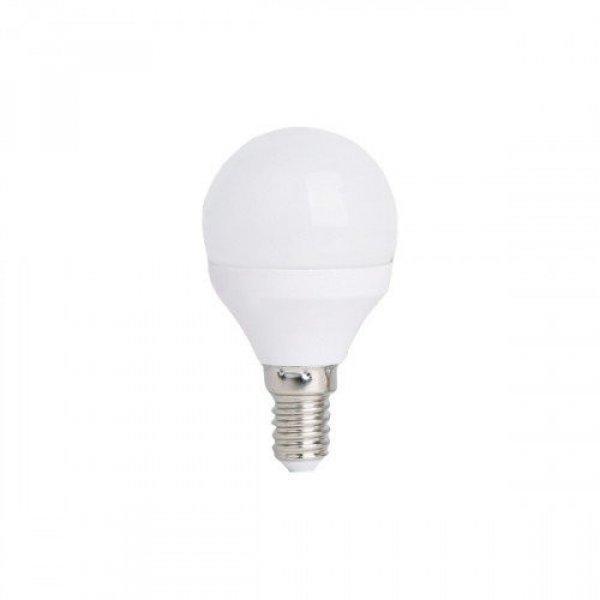 LED lámpa , égő , körte , E14 foglalat , 5.5 Watt , 180° , h