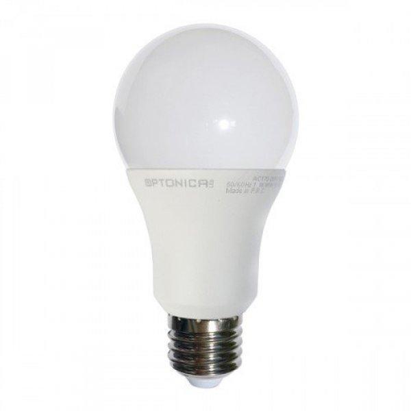 LED lámpa , égő , körte , E27 foglalat , 7 Watt , természete