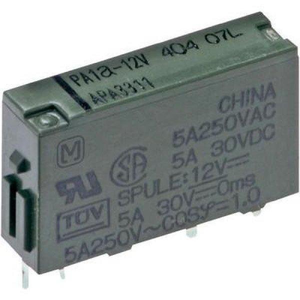 Teljesítményrelé, PA Panasonic PA1A-5V 5 V/DC 1 záró 5 A 250