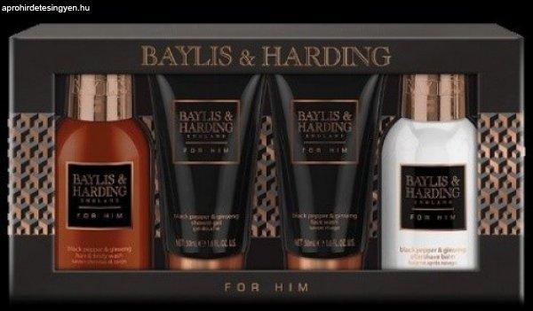 Baylis & Harding feketebors ginzeng 4 darabos férfi szett