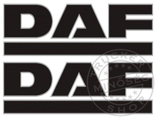 DAF óriás matrica oldalra párban (100x35cm)