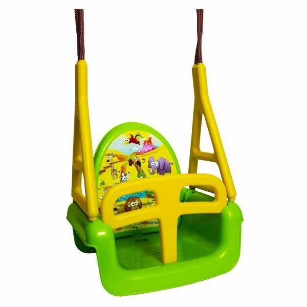 Gyerek hinta 3az1-ben szafari Swing green