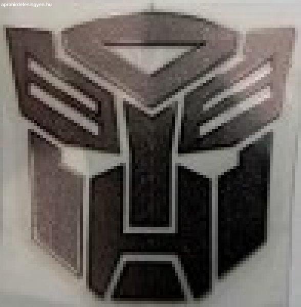 Transformers fém fólia szerű,logó