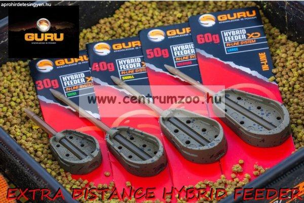 GURU EXTRA DISTANCE HYBRID FEEDER Medium 50g feeder kosár 24