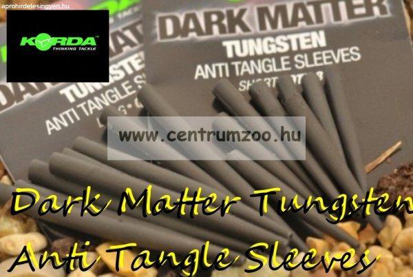 Korda Dark Matter Tungsten Anti Tangle Sleeves 8db (KDMATL)
